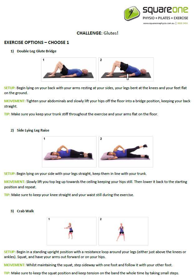 March Pilates Challenge
